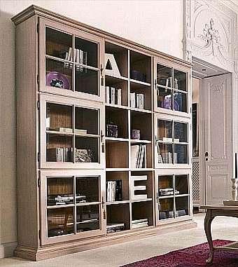 Книжный шкаф tonin casa arc en ciel avery - 1665. купить в б.
